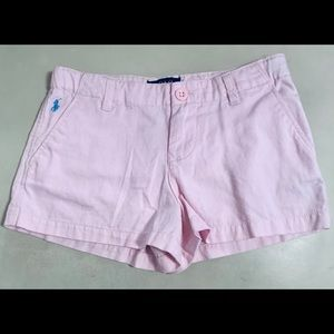 Ralph Lauren Polo Shorts Cotton Lite Pink Size 6X
